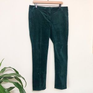Loft green pants size 12